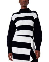 Tibi Wool Pullover - Black