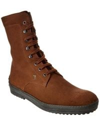 Tod's Roper-toe Boot - Brown