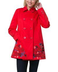 Desigual Coat - Red