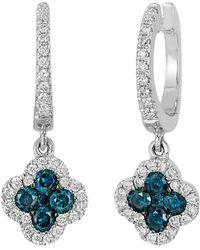 Le Vian - ® Exotics® 14k 0.58 Ct. Tw. Diamond Earrings - Lyst