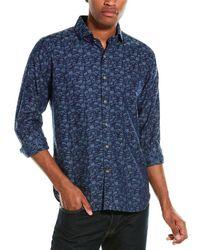 Robert Graham Lloyd Woven Shirt - Blue
