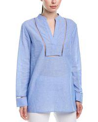 ESCADA Linen-blend Tunic - Blue