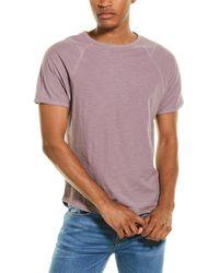 Threads For Thought Ezra Slub Raglan Shirt - Purple