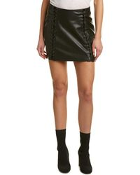 Lea & Viola - Lace-up Mini Skirt - Lyst