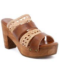 Bed Stu - Crystal (tan Rustic/bone Rustic Leather) Shoes - Lyst