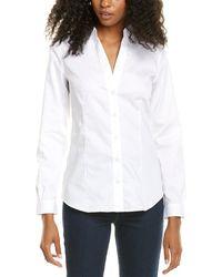 Jones New York Easy Care Shirt - White