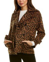 Splendid Suki Wool-blend Jacket - Brown