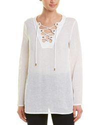 Michael Kors Linen Tunic - White