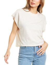 FRAME Denim Off-duty T-shirt - White