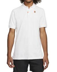 Nike Heritage Standard Polo Shirt - White