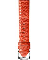 Philip Stein Leather Strap - Small - Red