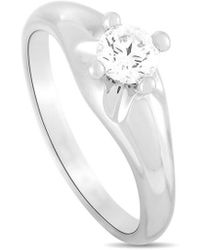 BVLGARI Bulgari Platinum 0.35 Ct. Tw. Diamond Engagement Ring - Metallic