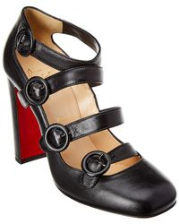 Christian Louboutin - Mistiroir 100 Leather Pump - Lyst