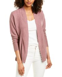 Eileen Fisher Shaped Cardigan - Purple