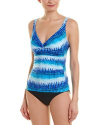 Gottex Pool Party Tankini Top - Blue