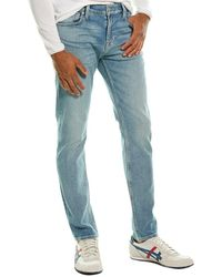7 For All Mankind 7 For All Mankind Paxtyn Evgd Skinny Leg Jean - Blue