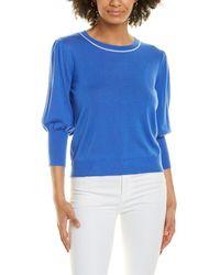 Marella Dental Wool Jumper - Blue