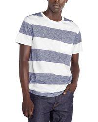 J.Crew Rig Stripe T-shirt - Blue