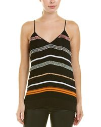 10 Crosby Derek Lam Pleated Cami - Black