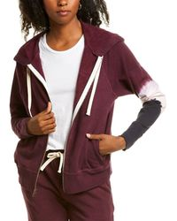 Electric and Rose Highland Hoodie - Purple