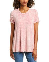 Wanderlux Mineral Swing T-shirt - Pink
