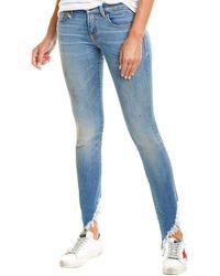 R13 Kate Branson Skinny Leg - Blue