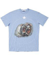 Givenchy - Monkey Print Crewneck T-shirt - Lyst