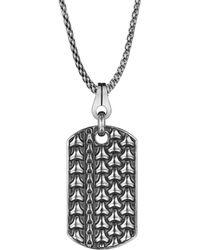 Di Modolo - Centauro Silver Necklace - Lyst