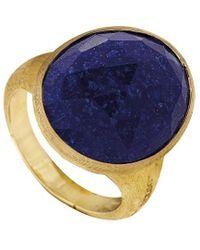 Marco Bicego - Lunaria 18k Lapis Ring - Lyst