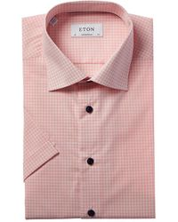 Eton of Sweden Contemporary Fit Dress Shirt - Pink