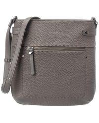 Fiorelli Anna Leather Crossbody - Grey