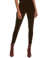 Donna Karan Velvet Legging - Black