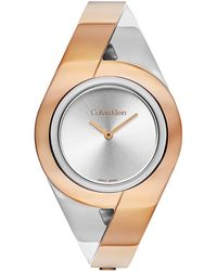 Calvin Klein Sensual Watch - Metallic