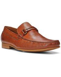 Donald J Pliner Donnie Leather Loafer - Brown