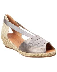 Gentle Souls - Luci Leather Wedge Sandal - Lyst