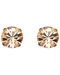 Loren Hope - 18k Plated Crystal Studs - Lyst
