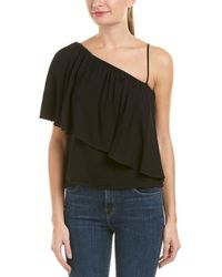 7 For All Mankind 7 For All Mankind Off-the-shoulder Top - Black