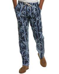 J.McLaughlin Laird Linen Pant - Blue