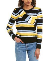 Parker Montego Wool-blend Sweater - Black
