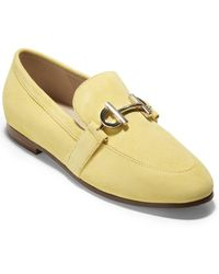 Cole Haan Mc Suede Loafer - Yellow