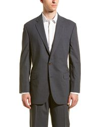 Brooks Brothers Wool-blend Suit With Pleated Pant - Gray