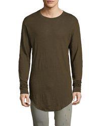 IRO - Odon Curved Hem T-shirt - Lyst