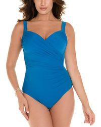 Miraclesuit Must Have Sanibel One-piece - Blue