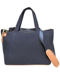 Adrienne Vittadini Quilted Duffel - Blue