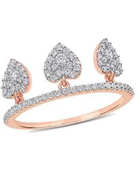 Rina Limor 14k 0.44 Ct. Tw. Diamond Ring - Metallic