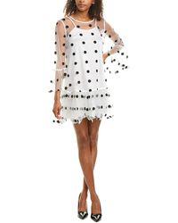 Gracia Shift Dress - White