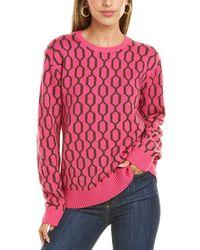 Trina Turk Dern Wool Jumper - Pink