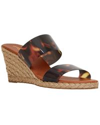 Andre Assous Andrea Wedge Sandal - Brown