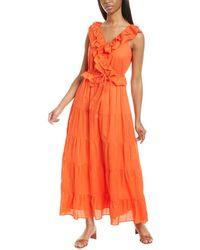 J.Crew Nina Maxi Dress - Red