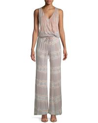 Young Fabulous & Broke - Val Printed Jumpsuit - Lyst